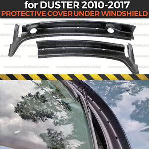 """Protective cover under windshield """"Jabot"""" for Dacia / Renault Duster 2010-2017"""