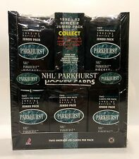 1992 Parkhurst series 2 JUMBO NHL Hockey Card Box 25 packs Factory Sealed