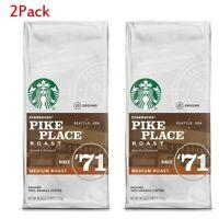 Starbucks Pike Place Medium Roast Ground Coffee (40 oz.) 2Pack