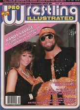 Pro Wrestling Illustrated February 1988 Randy Savage, Elizabeth  VG 020116DBE