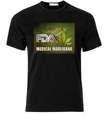 FDA Medical Marijuana  - Graphic Cotton T Shirt Short & Long Sleeve