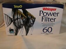 Tetra Whisper Power Filter 60 for Aquariums or Fish Tanks 30 - 60 gallons
