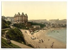 4 Victorian Views Scarborough Grand Hotel Castle Spa Childrens Corner Old Photos
