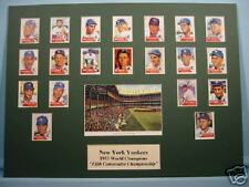 New York Yankees win 1953 World Series - The Fifth World Championship in a row
