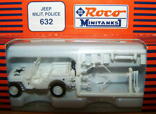 Roco 632 - Jeep Mil. Police Weiss - 1:87