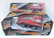 gig nikko skorpion super 8 scala 1/6 RC radiocomando super buggy 4 ruote motrici