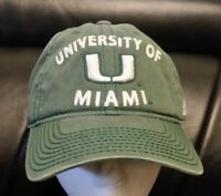 Miami Hurricanes Adidas NCAA Adjustable Slouch Hat. FREE SHIPPING!!!!!!