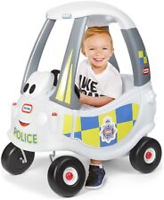 Little Tikes Cozy Coupe Police Car - White.