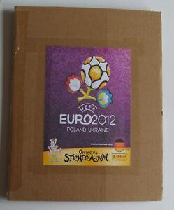 Panini UEFA Euro 2012 Poland Stickers - Ukraine German Edition Full Set