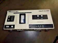 WELCH ALLYN V1674C.B/W VIDEOPROBE 2000 VIDEO PROCESSOR W/ VS100 SCOPE 120V-AC CO
