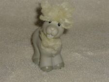 Fisher Price Little People Touch N Feel Farm Gray Goat Hair
