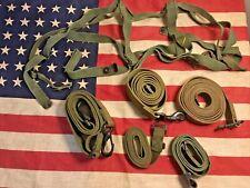 Ww2 Us Army Field Gear Lot of 6 Straps