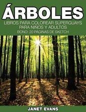 Arboles : Libros para Colorear Superguays para Ninos y Adultos (Bono: 20...