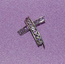 Contemporary Cut Stone Cross ~ Amethyst ~ Powerful Aid To Creative Thinking!!!