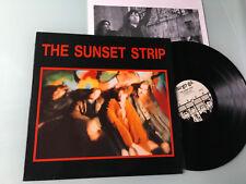 LP Australia 1987 NM  The Sunset Strip Label: Au Go Go – ANDA 58