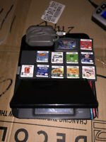 Nintendo DS Lite 12 Game Bundle With Case And Charger * Tested *