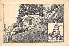 b28719 suceava grota lui daniil sihastru din putna bucovina postcard    romania