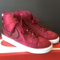 Nike Blazer Mid Premium Women's Size 6.5 Red Crush White AV9375-605 FREE SHIP