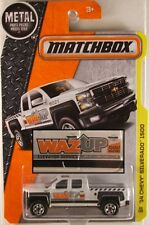 MATCHBOX #59 Chevy Silverado 1500, 2016 issue (NEW in BLISTER)