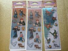 Harry Potter 2001 Stickers - 5 sheets(Rare/Htf)