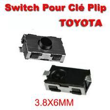 LOT 2 Switch bouton Clé Télécommande Plip Toyota Yaris Celica Colorado Prius
