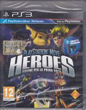 Ps3 PlayStation Movie HEROES Ratchet Clank Jak Daxter Sly Bentley nuovo italiano