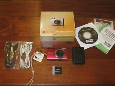 Canon PowerShot A3300 IS 16.0MP Digital Camera - Red WORKS