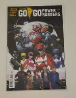 Saban's Go Go Power Rangers #1 Boom Studios Comic Book