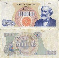 1000 Lire Verdi I tipo 14/7/1962 Carli - Ripa