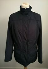 Womens Barbour L2195 Lightweight Navy Blue Waterproof and Breathable Jacket VGC
