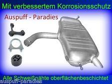 Endschalldämpfer Auspuff Endtopf VW Touran I 1.6  (Typ 1T1, 1T2) + Anbaukit