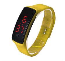 Digital LED Pulsera Pantalla Táctil Reloj De Pulsera Fino Anillo para