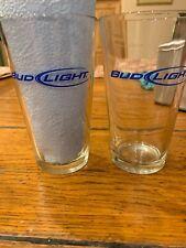 bud light beer glasses