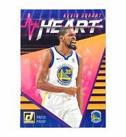 2018-19 Donruss Basketball #5 KEVIN DURANT All Heart Press Proof SP Warriors