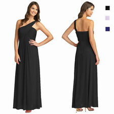 Satin One Shoulder Dry-clean Only Formal Dresses for Women