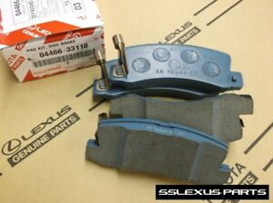 Lexus RX300 (2002-2003) OEM Genuine REAR BRAKE PADS / PAD SET 04466-33110