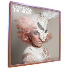 Retro Vinyl LP Record Album Square Frame 30 Cm 12 Inch Cover, Acrylic Front