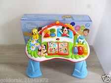 ☺ Clementoni La Table D'activitès De Mickey Disney Baby 12 Mois Et +
