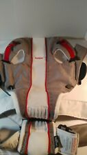 Baby Bjorn Baby Carrier Mesh One Air White/Gray 0+ 8-25 Lbs Excellent Condition