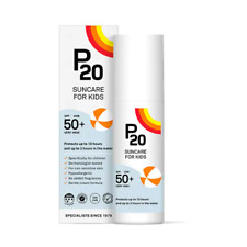 P20 Suncare For Kids Spf 50+ very High, 10 Hours protects, 100ml & 200ml NEW