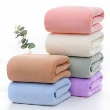 Adult Man & Women Coral Fleece Beach & Bath Towel Soft Bibulous Bath Towel 6pcs