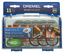 Dremel 11-Piece EZ LOCK CUTTING KIT for POWER ROTARY TOOLS Miscellaneous Collets