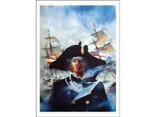 Affiche Offset Bruce Hawker Cap sur Gibraltar