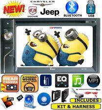 CHRYSLER JEEP DODGE TOUCHSCREEN DVD CD BLUETOOTH USB Double Din Car Radio Stereo