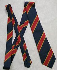 Nuevo Gris Oro Rojo a Rayas Corbata Corbata Para Hombre Vintage Rayas Vieja Escuela COLLEGE