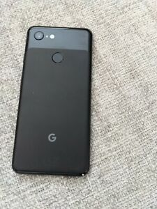 Google Pixel 3 - 128GB - Just Black (Unlocked) Used Model G013A Boxed