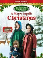 Little House on the Prairie: A Merry Ingalls Christmas (Deluxe Edition) DVD NEW