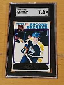 1980 Topps #3 Wayne Gretzky SGC 7.5 Newly Graded Record Breaker