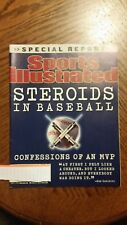 2002 STEROIDS IN BASEBALL  SPORTS ILLUSTRATED MAGAZINE