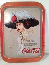Vintage Coca Cola 1971 Hamilton King Serving Tray Original Good